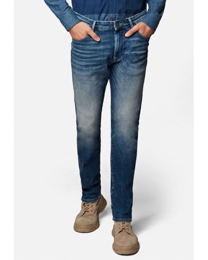 Mavi Marcus Straight - Mittelblau