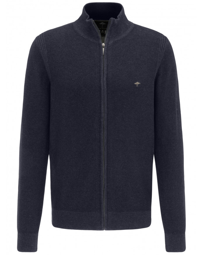Fynch Hatton Strickjacke - Dunkelblau