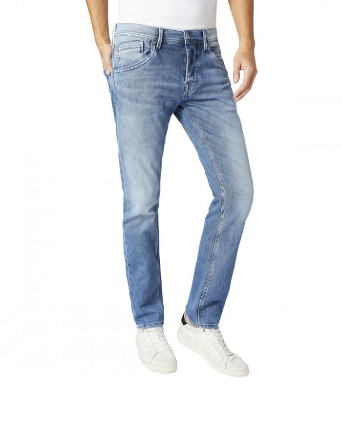 Pepe Jeans Track Regular - Mittelblau