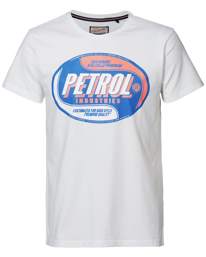 Petrol Industries T-Shirt - Weiss