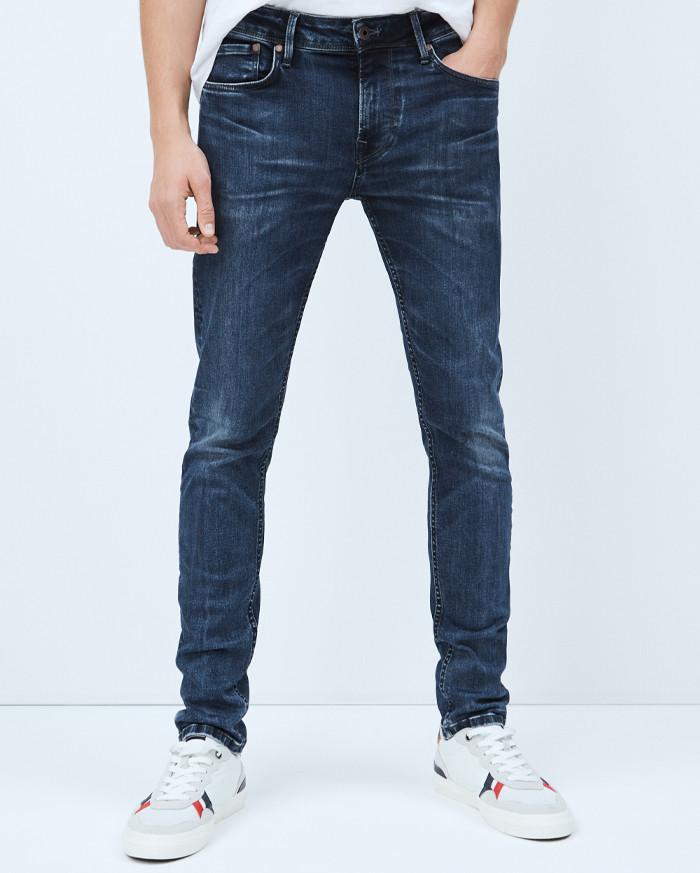 Pepe Jeans Finsbury Skinny Weser Wash -