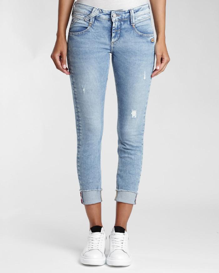 Gang Jeans Nena Cropped - Hellblau