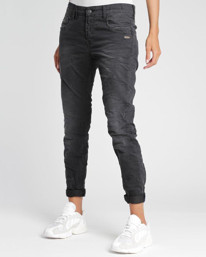Gang Jeans New Georgina Boyfriend - Dunkelgrau